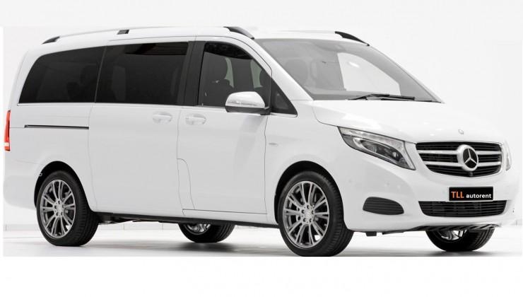 Mercedes-Benz Vito 9 kohta hind 90 eurot ööpäevas