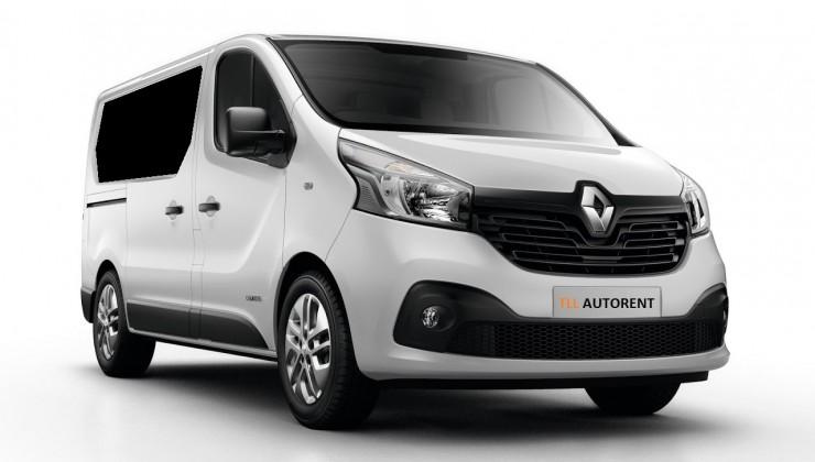Renault Trafic 2015 hind 55 eurot ööpäevas